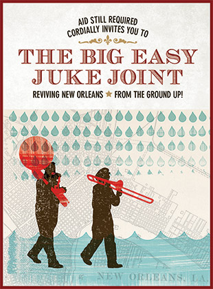 Big Easy Juke Joint Invitation