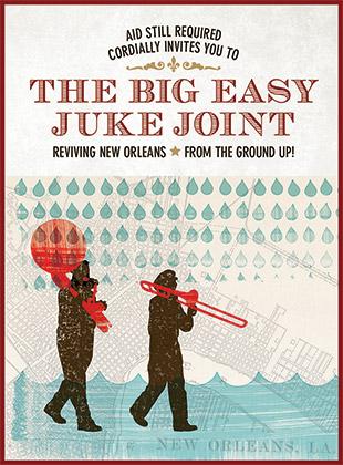 Big Easy Juke Joint Invitation
