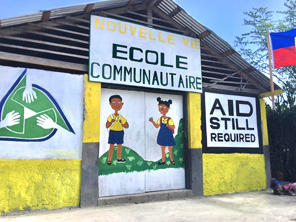 Cayes School Exterior
