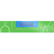Organize To Excel Logo Square