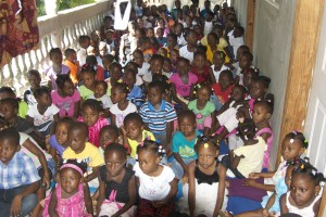 At OADENN, an Aid Still Required children's program in Cap Haitien in northern Haiti.